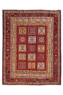 Sale 9141C - Lot 41 - PERSIAN NOMADIC SIRJAN MIXED-WEAVE, 150X190CM