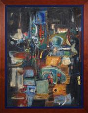 Sale 8427 - Lot 586 - Robert Louis Curtis (1929 - ) - Still Life 89.5 x 66cm