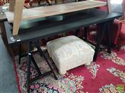 Sale 8554 - Lot 1083 - Modern Trestle Desk