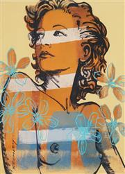Sale 8658A - Lot 5069 - David Bromley (1960 - ) - Hilary 29 x 21cm (frame: 45 x 36cm)