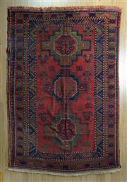 Sale 8653C - Lot 77 - Antique Russian Azerbajan  230cm x 157cm