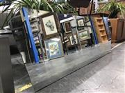 Sale 8787 - Lot 1069 - Large Unframed Mirror ( 164 x 56cm)