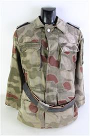 Sale 8952M - Lot 673 - German Military Uniform With Belt On A Mannequin