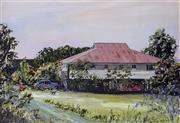 Sale 9002A - Lot 5049 - John Konstant (1947 - ) - Colonial Homestead, QLD 29 x 39 cm