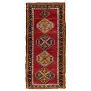 Sale 9061C - Lot 11 - Antique Caucasian Shirvan, C1940, 140X305cm, Handspun Wool