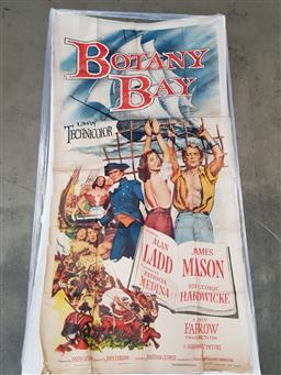 Sale 9151 - Lot 1002 - Original Paramount US Botany Bay 3 sheet poster