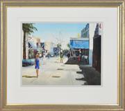 Sale 8323A - Lot 65 - Fay Joseph (1939 - ) - Cronulla Plaza 39.5 x 50.5cm