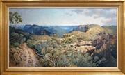Sale 8411A - Lot 5061 - Clifford Bayly (1927 - ) - Untitled, 1986 (Landscape) 89.5 x 164cm