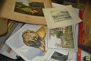 Sale 8425T - Lot 2089 - Pears Impudent Hussies Print& Others