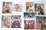 Sale 8490 - Lot 317 - Signed Astronaut Photographs Various Years inc Sally Ride