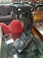 Sale 8611 - Lot 1009 - Royal Enfield Mudguard Table Lamp