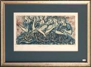 Sale 8734A - Lot 26 - Anne Sheridan - Gretian Fragment I, 1989 57 x 76cm (frame size)