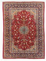 Sale 8770C - Lot 37 - A Persian Kashan From Isfahan Region 100% Wool Pile On Cotton Foundation, 360 x 260cm