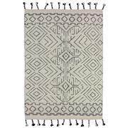 Sale 9082C - Lot 26 - India Nomadic Moroc Design Rug, 160x230cm, Handspun Wool