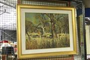 Sale 8323A - Lot 9 - Patrick Carroll (1949 - ) - Lord of the Long Grass, Gundaroo 44.5 x 59.5cm