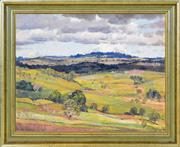 Sale 8394 - Lot 533 - Herbert Reginald Gallop (1890 - 1958) - The View to Berry, New South Wales 59 x 73.5cm