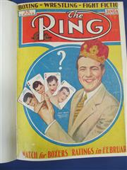 Sale 8419A - Lot 27 - The Ring 1935 - an original bound set of The Ring from January to December 1935, with great covers