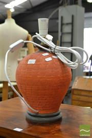 Sale 8515 - Lot 1072 - A 1970s Style Italian Hand Made Bitossi Table Lamp Base (VINT26)