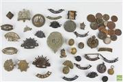 Sale 8578 - Lot 22 - Australian & International Badges inc Military with Pre-Decimal Coins, mainly Australian incl 1927 Florin