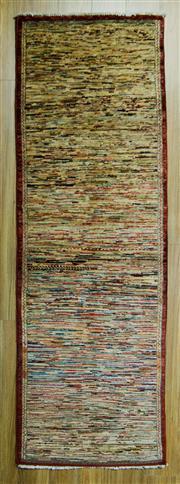 Sale 8601C - Lot 92 - Afghan Chobi Stripe 229x75