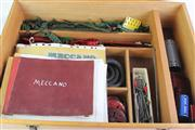 Sale 8818 - Lot 98 - Vintage Meccano in Fitted Timber Case