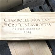 Sale 8876X - Lot 621 - 6x 2014 Olivier Bernstein Les Lavrottes, 1er Cru, Chambolle-Musigny - original timber box