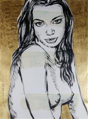 Sale 9002A - Lot 5016 - David Bromley (1960 - ) - Nude Study 100 x 80 cm