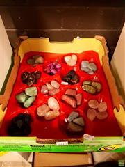 Sale 8582 - Lot 2240 - Box of Polished Specimens