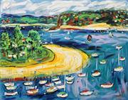 Sale 8656 - Lot 519 - Nada Herman (1965 - ) - Overlooking the Bay 122 x 152cm
