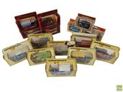 Sale 8652W - Lot 15 - Collection of 13 Matchbox Vintage Models of Yesteryear Cars Together with 3 Lledo Models of Days Gone (15) - Made in England
