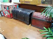 Sale 8744 - Lot 1040 - Collection of Three Trunks