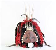 Sale 8887 - Lot 8 - PNG Headdress - 61 x 42cm
