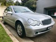 Sale 8963V - Lot 1 - Mercedes Benz C180 Sedan 2.0 with silver exterior. 2002 Registered until 18 Dec 2020  VIN WDC2030352R044977 Plate COO 45N  One...