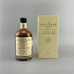Sale 9250W - Lot 772 - Sullivans Cove Rare Double Cask Single Malt Tasmanian Whisky - cask no. DC110, filled 04/07/2013, decanted 18/11/2020, 46.9% ABV,...
