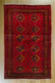 Sale 8653C - Lot 79 - Afghan Qunduzi 140cm x 85cm