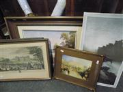 Sale 8433 - Lot 2095 - 5 Artworks incl L. Hassall (one unframed)