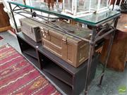 Sale 8469 - Lot 1063 - Metal Hall table