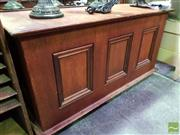Sale 8545 - Lot 1071 - Timber Lift Top Trunk