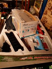 Sale 8582 - Lot 2345 - Toy Railway & Food Processor