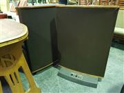 Sale 8661 - Lot 1041 - Pair Quad ESL-63 Electro Static Loud Speakers SN/18062 & 18061