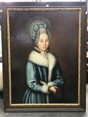 Sale 8817 - Lot 1049 - Artist Unknown - Portrait of a Noble Woman 102 x 74.5cm