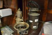 Sale 8440 - Lot 1057 - Bicycle Lantern and Ship[s Wall Mount Lantern