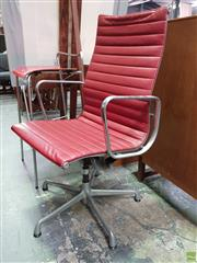 Sale 8585 - Lot 1080 - Eames High Back Office Chair