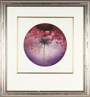 Sale 8789 - Lot 2014 - Michael Kempson (1961 - ) - Red Rose, 1998 47 x 47cm