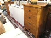 Sale 8851 - Lot 1047 - Pair of Four Drawer Bedside Chests