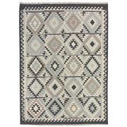 Sale 8880C - Lot 66 - India Natural Maymana Kilim Rug, 160x230cm, Handspun Natural Wool