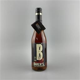 Sale 9250W - Lot 742 - James B Beam Bakers 7YO Kentucky Straight Bourbon Whiskey - batch no. B-90-001, 53.5% ABV, 750ml