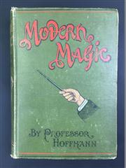 Sale 8539M - Lot 13 - Professor Hoffmann (Angelo Lewis), Modern Magic:  A Practical Treatise on the Art of Conjuring. London: Hamleys Magical Saloons/R...