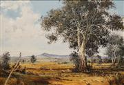 Sale 8665A - Lot 5007 - Gustav Pirstitz - Kiawa Valley Scene 70 x 101cm