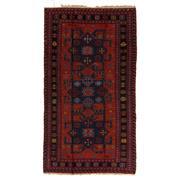 Sale 8880C - Lot 67 - Antique Caucasian Soumak Carpet, 268x147cm, Handspun Wool